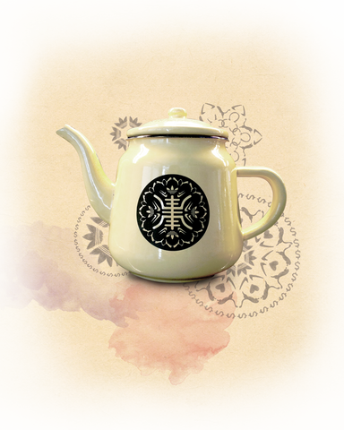 Enamel teapot - new series: longevity