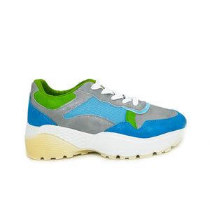 Zapatillas con plataforma - High Bake Blue - NEWHARD