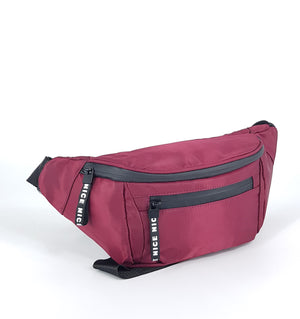 FANNY PACK DARK RED - NEWHARD