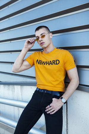 HARD T-SHIRT YELLOW - NEWHARD