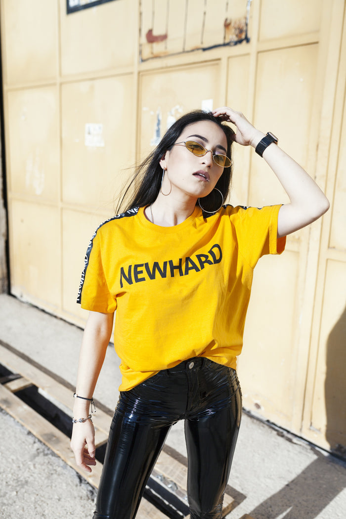 HARD T-SHIRT YELLOW