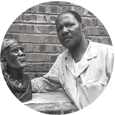 James Tandi, Shona sculptor from Zimbabwe - Artistic Africa Gallery - The Moyo Colllection
