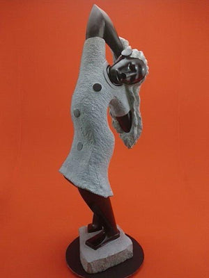Shona Stone sculpture - Moyo Collection from Artistic Africa Gallery