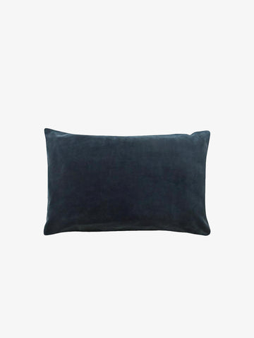 Charcoal Velvet Pillowcase