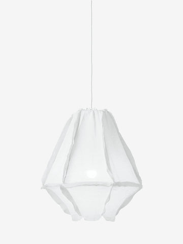 Cumulus Pendant Light White Muslin