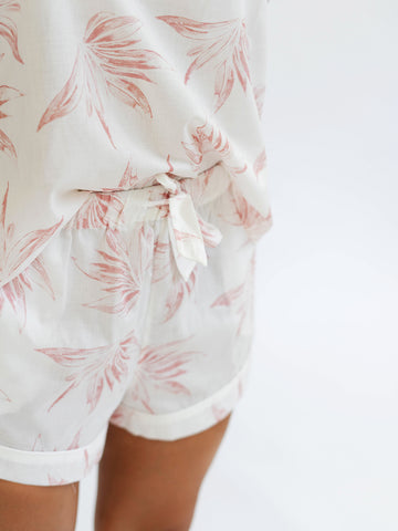 Pyjama Shorts in Deia Print