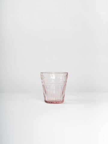 Glass Tumbler, Pink (Set of 6)