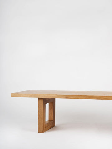 Global Bench in White Oak