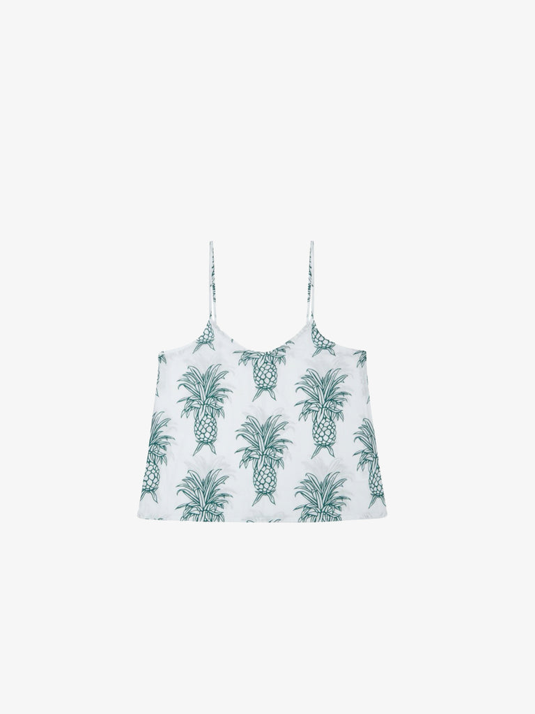 Cami Top in Howie Pineapple Print