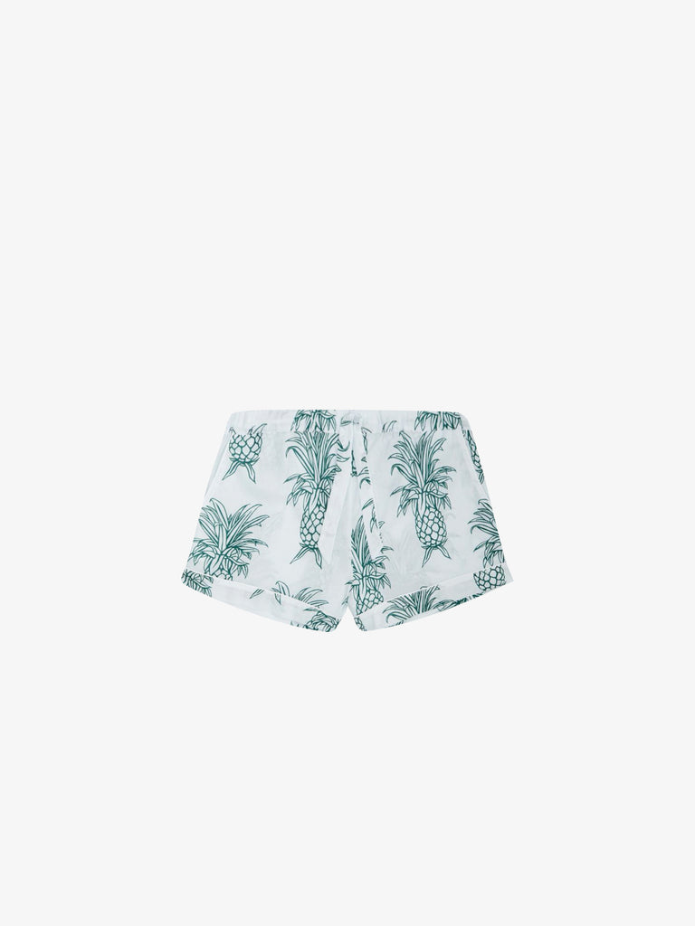 Pyjama shorts in Howie Pineapple Print