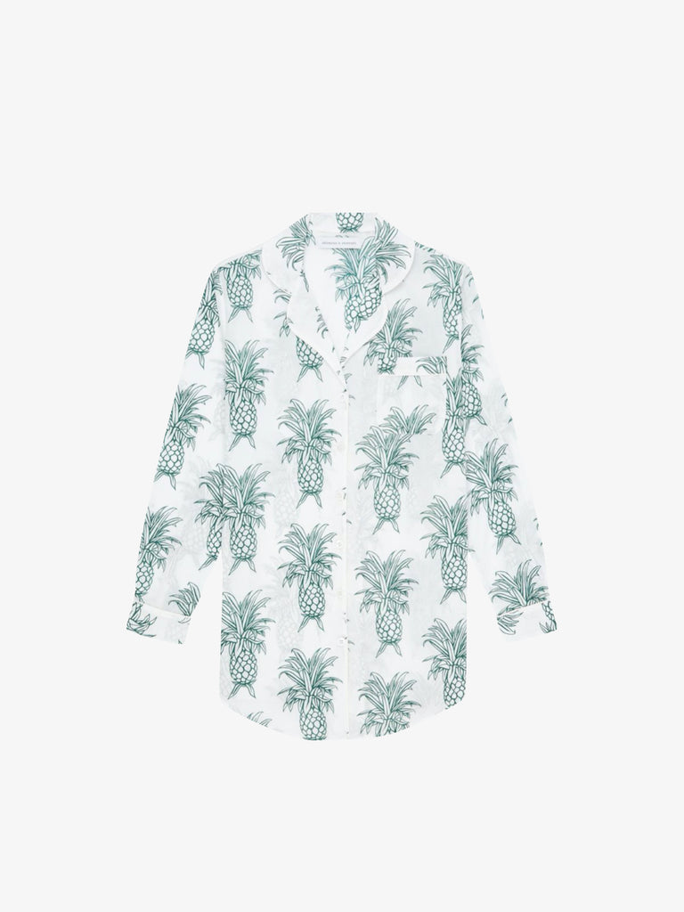 His Shirt for Her in Howie Pineapple Print
