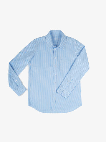 Franklin Stripe Shirt in Sky