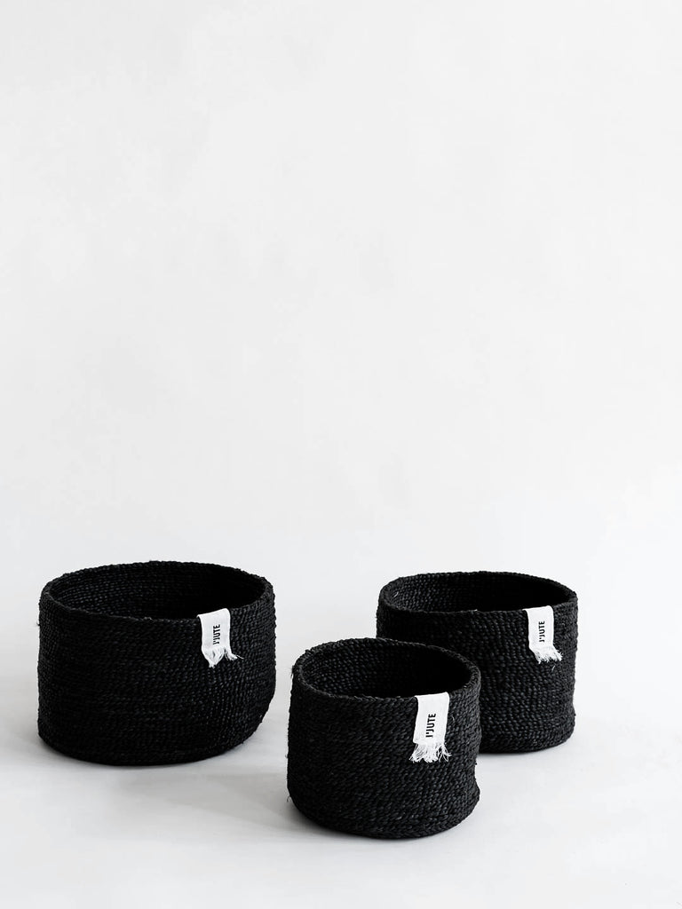 J'Jute Edition set of 3 - Black