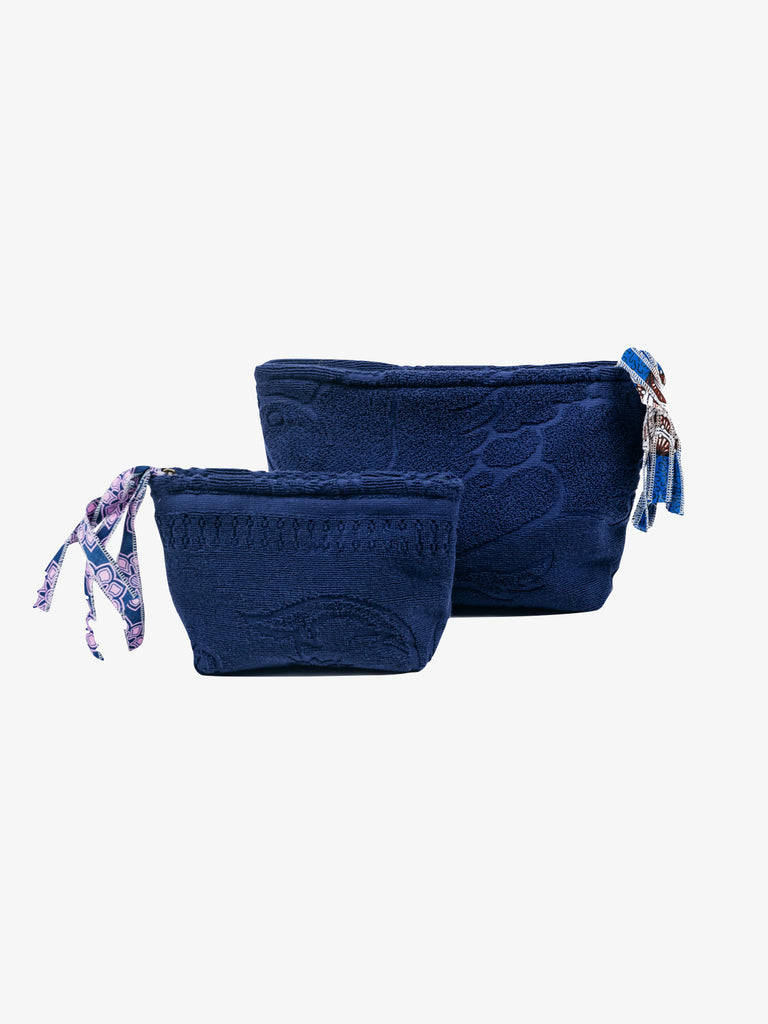 Lalla Clutch in Navy, Small