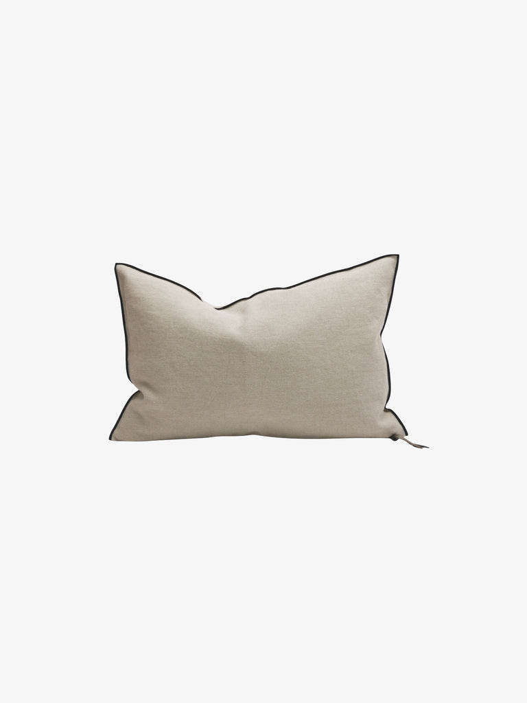 Stone Washed Linen Cushion in Naturel (3 sizes avail)