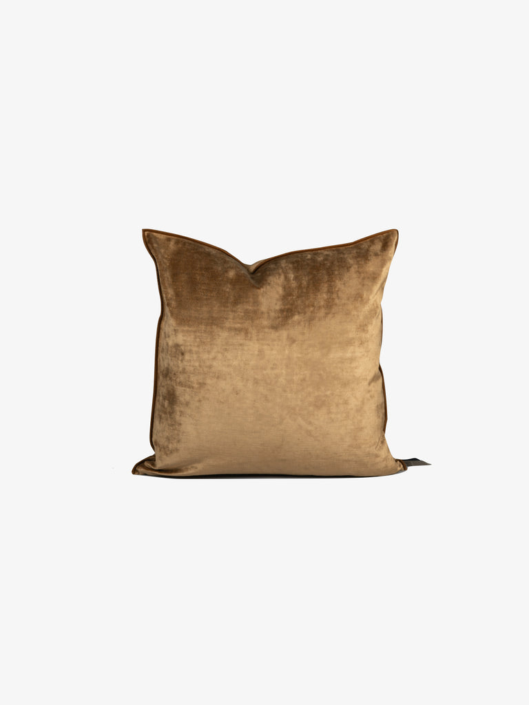 Royal Velvet Cushion in Havane (1 size avail)