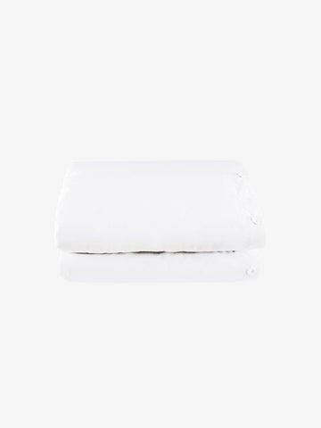 White Cotton Quilt Cover