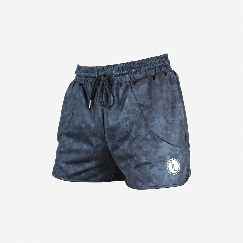 LEG DAY SHORTS STEALTH BLACK