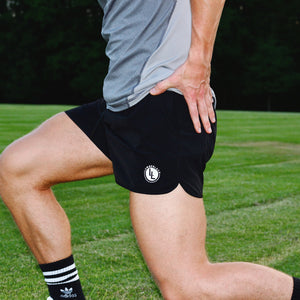 LEG DAY SHORTS OBSIDIAN BLACK