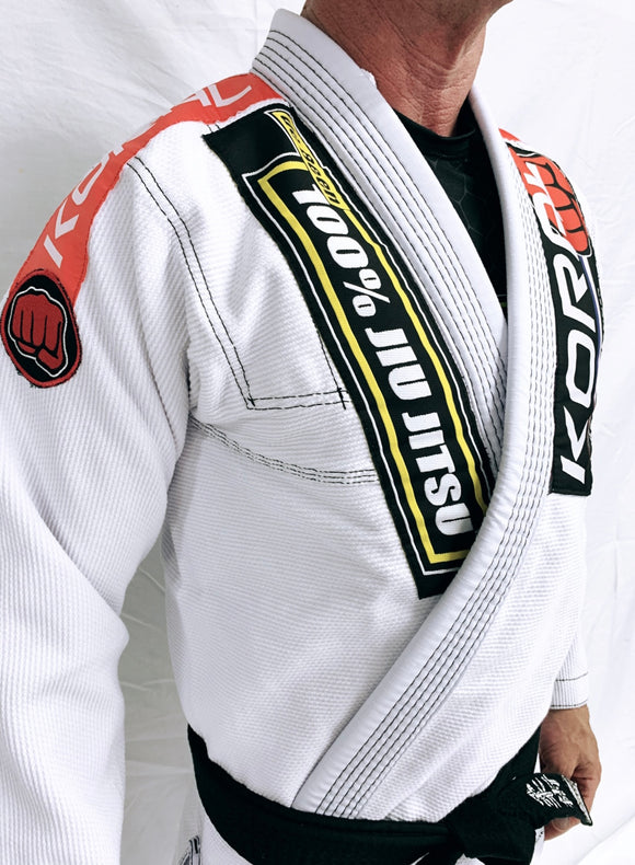 Adult White Competition Gi (Belt not included)