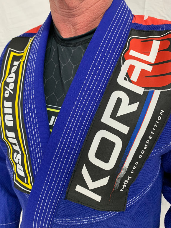 Adult Blue MKM Competition Gi (Belt not included)
