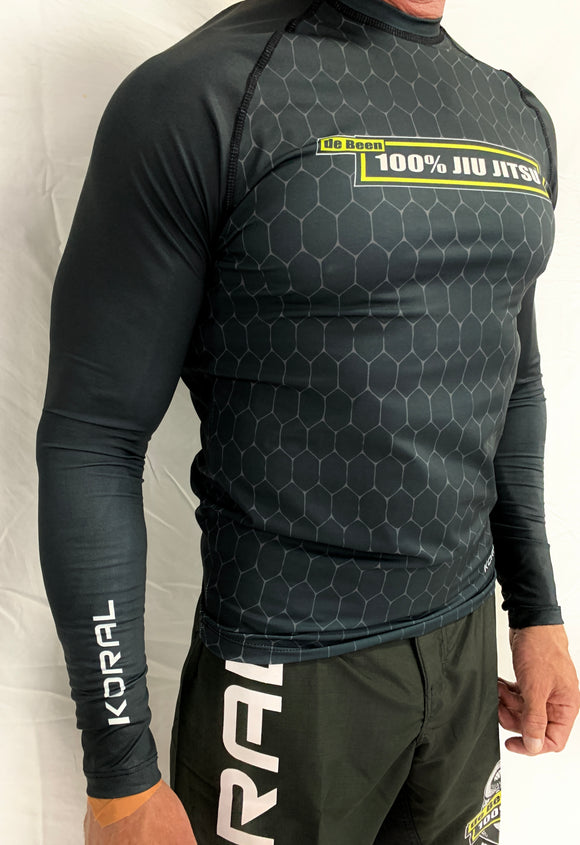 2021 Rash Guard Black Long Sleeve