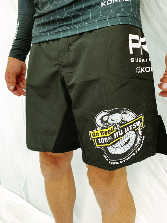Black Bermuda Fight Shorts