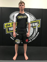 Short Sleeve Black Body Rash Guard