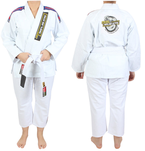 Junior de Been Jiu Jitsu White Gi-Non Woven Style (belt not included)