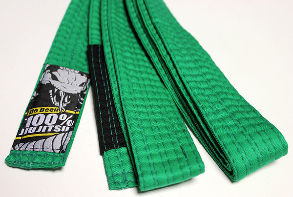 Junior de Been Jiu Jitsu Green Belt