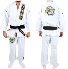 Junior de Been Jiu Jitsu White Gi - Woven Adult Style Gi(belt not included)