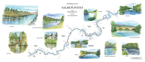 Map of River Beauly