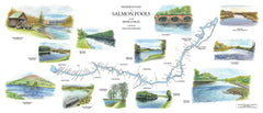 Map of River Conon