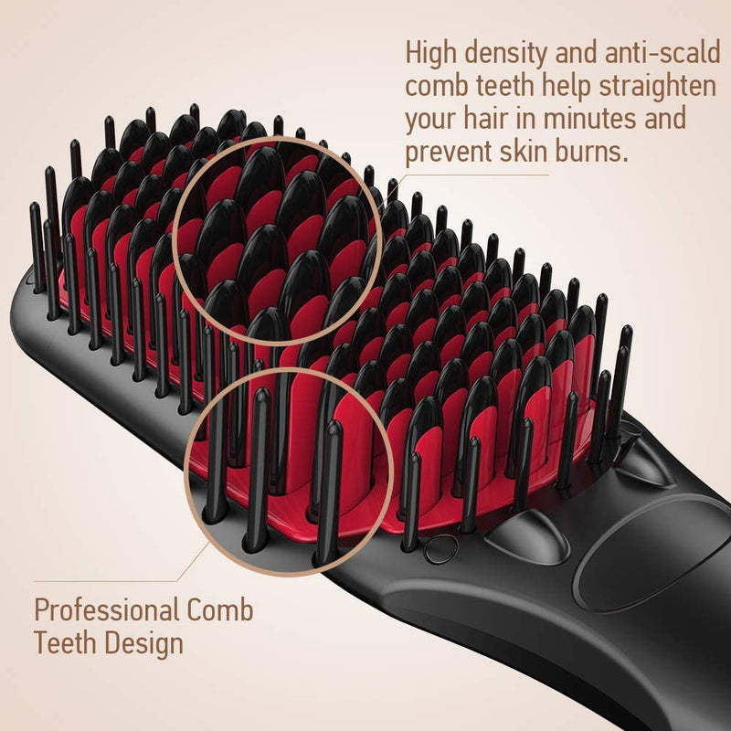 MiroPure Hair Straightening Brush 2 in 1 - LSF Dermal Fillers