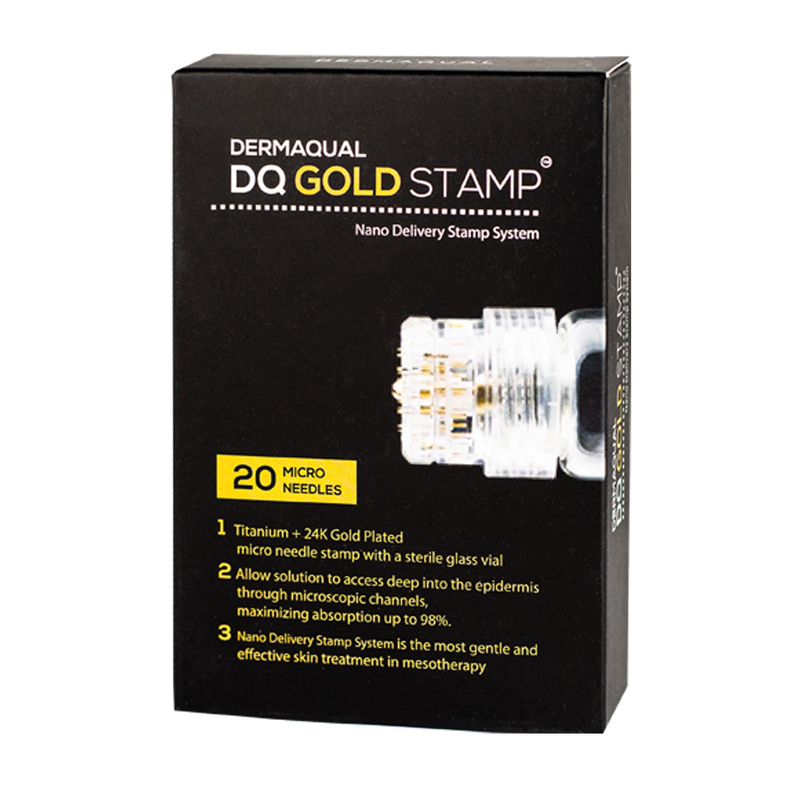 Dermaqual DQ Gold Stamp - LSF Dermal Fillers