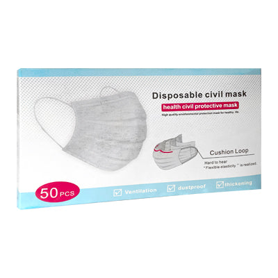 50 x Disposable 3 layer masks