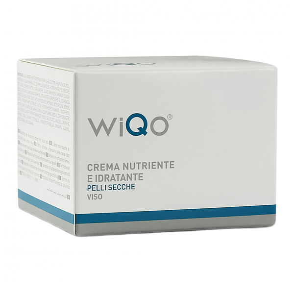 WiQo Nourishing and Moisturising Face Cream For Dry Skin 50ml - LSF Dermal Fillers