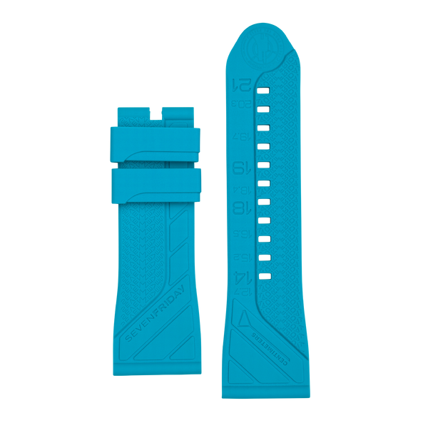 Turquoise Silicone Strap