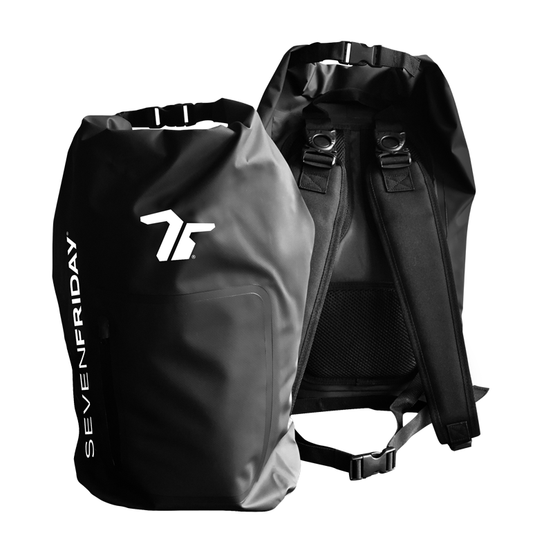 SEVENFRIDAY Waterproof Bag Black and white