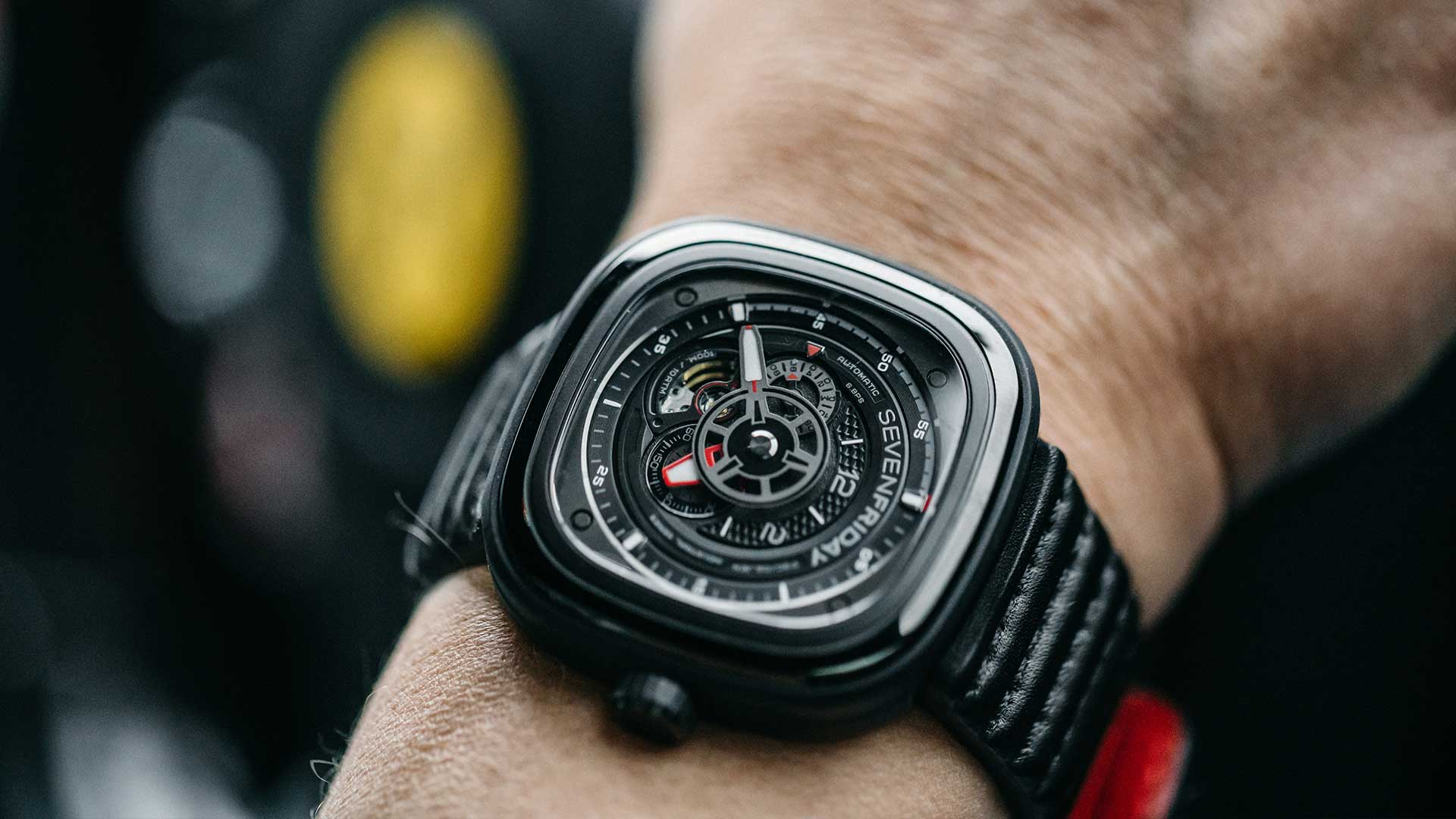 Sevenfriday watch P3C02 Racer III