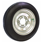 "Malone 12"" Galvanized Locking Spare Tire - Coontail"