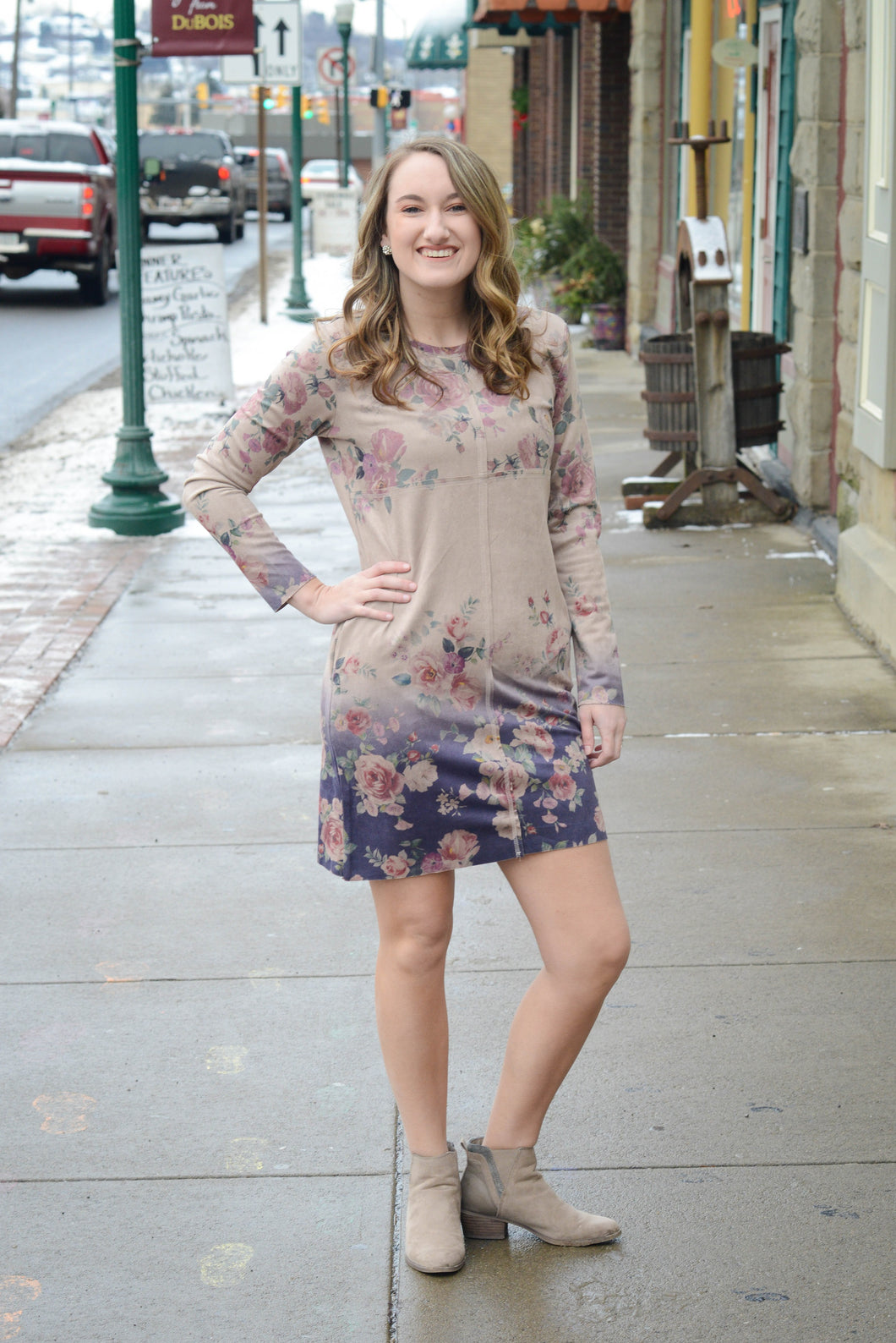 SALE - Joh Floral Pocket Dress