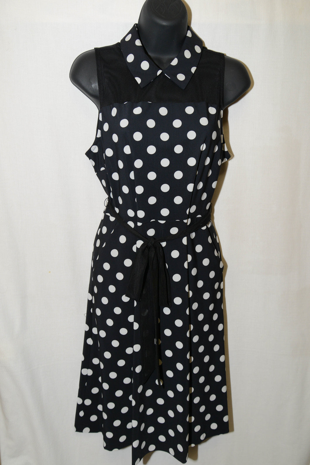 SALE - Tristan Polka Dot Dress