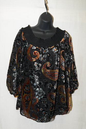 SALE - Tribal Blouse