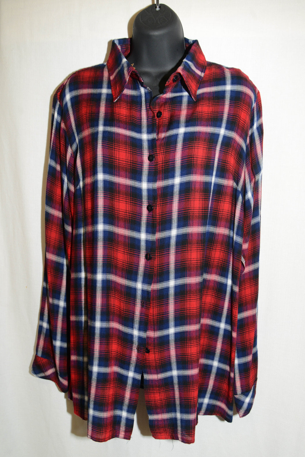 SALE - Ethyl Plaid Button Up