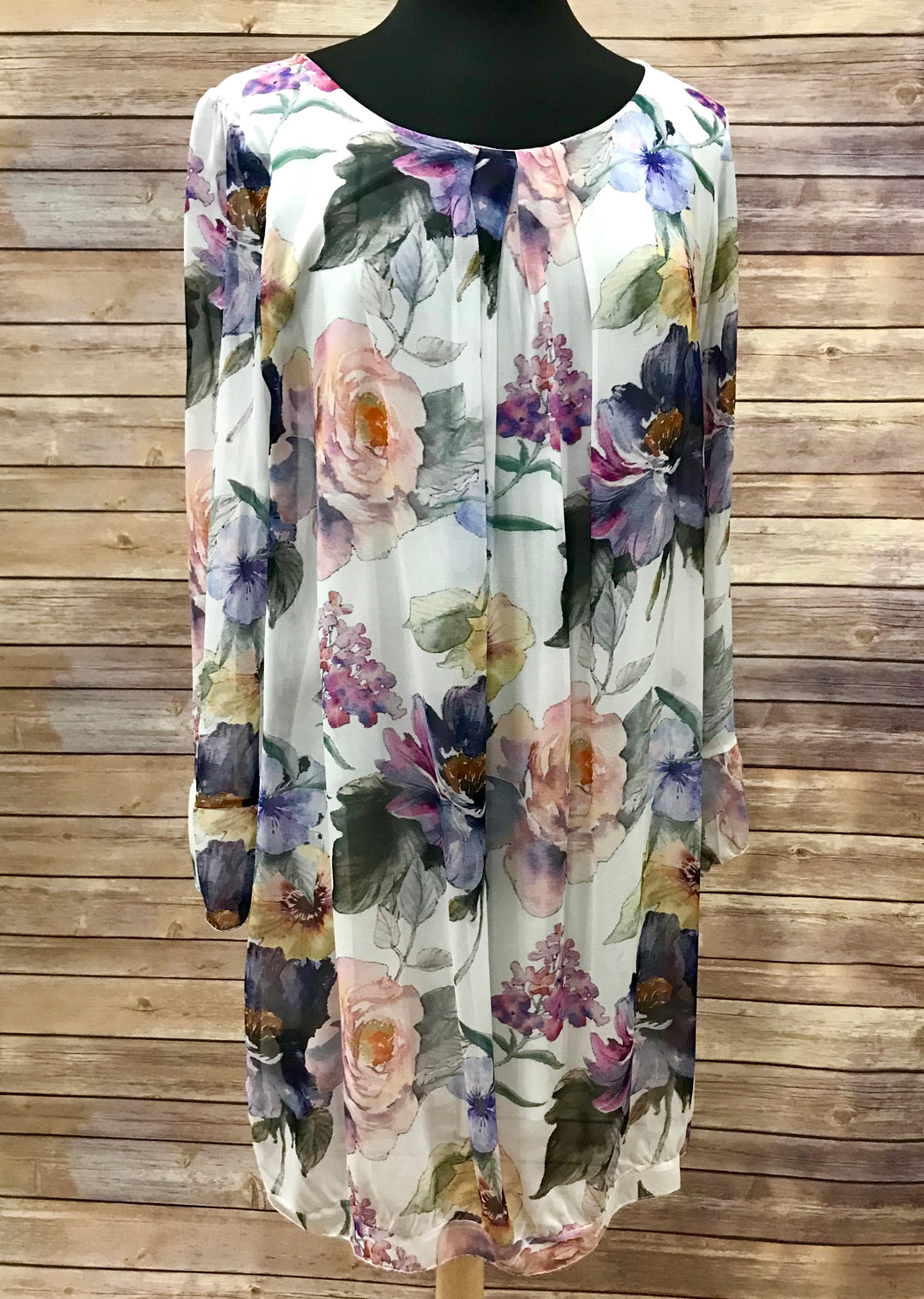 Made In Italy Floral Dress