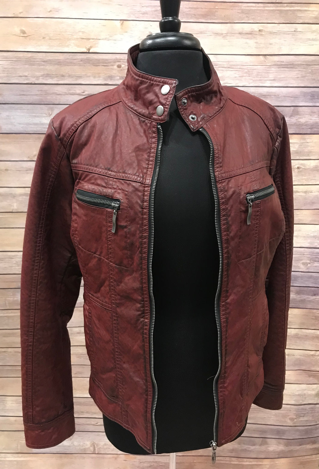 SALE - Montanaco Burnt Red Jacket