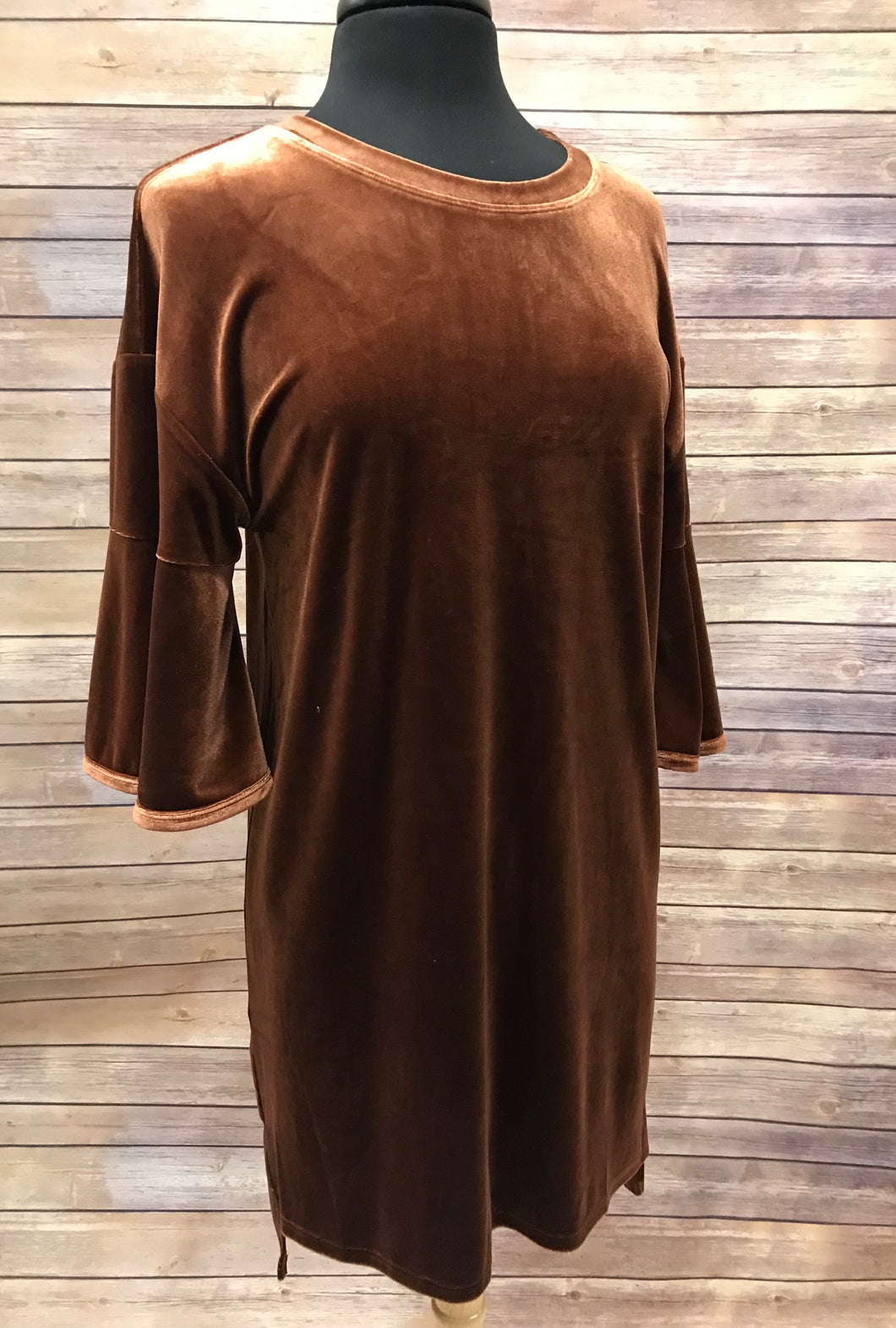 SALE - Very J Velour Dress