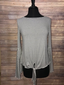 Elan Striped Top