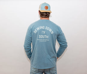 Sewing Down South Vintage Logo Long-Sleeve